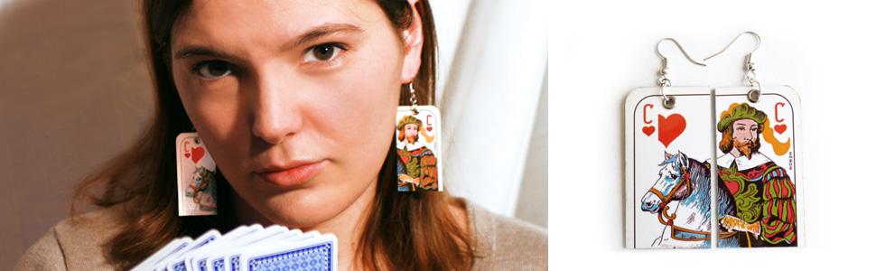 Bijoux Cartes à jouer