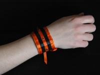 "Bracelet ""Orange mécanique"""