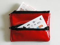 """Porte-monnaie """"Rouge et noir"""""""